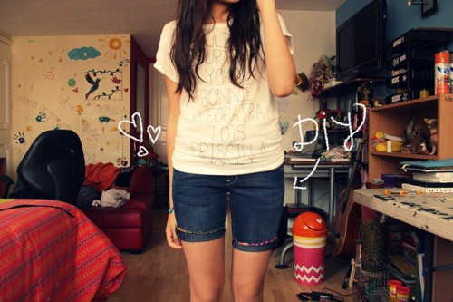 Embroidery Thread Shorts