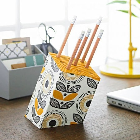 Block Pencil Holder