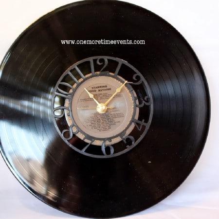 Vintage Record Clock