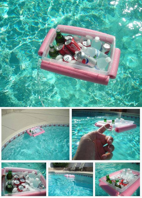 Make Your Own Floating Cooler