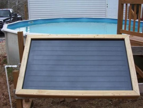 Build Your Own Solar Pool Heater
