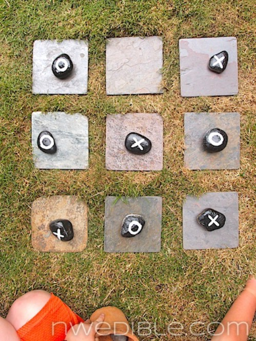 Add an Outdoor Tic-Tac-Toe Game