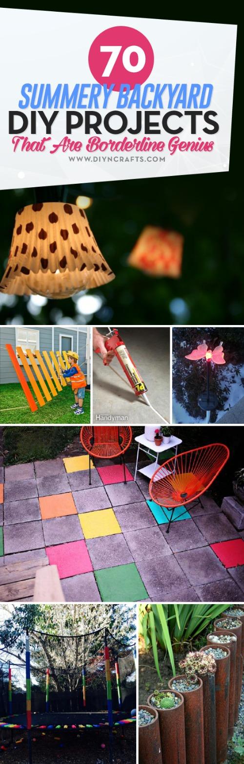 70 Summery #Backyard #DIY #Projects That Are Borderline Genius
