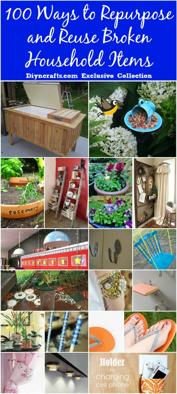 100 Ways to Repurpose and Reuse Broken