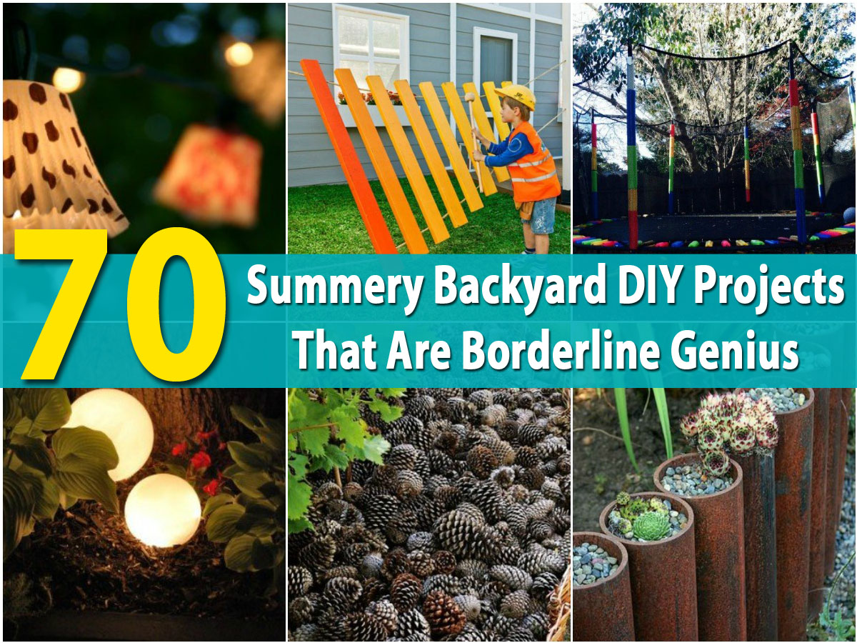 70 Summery Backyard DIY Projects That Are Borderline Genius   DIY U0026 Crafts