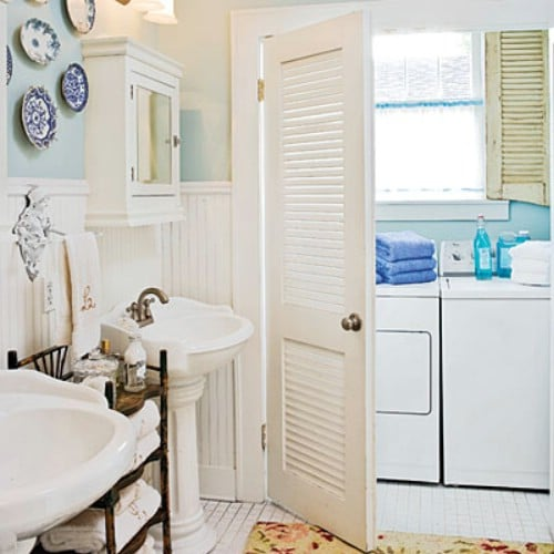 Camouflage Your Laundry Room