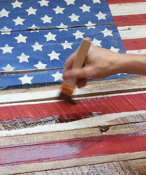 40 fun and patriotic crafts for your 4th of july for Americana crafts to make
