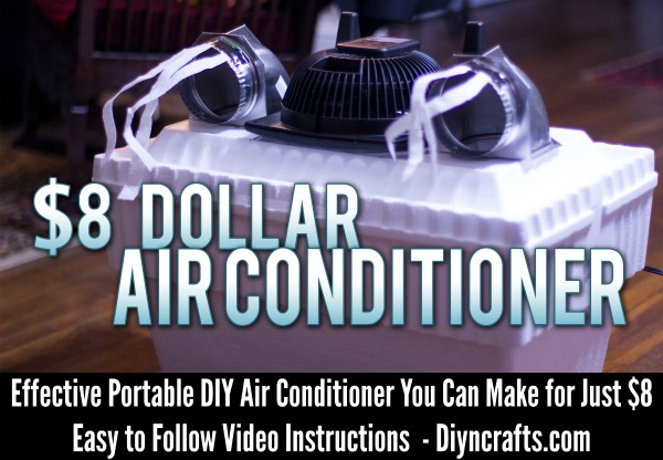 Effective Portable DIY Air Conditioner You Can Make for Just $8