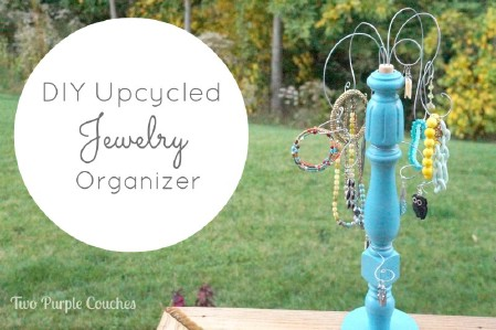 Staircase Spindle Jewelry Holder