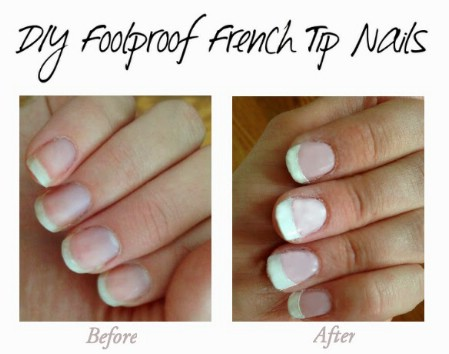 French Nail Tip Stencils