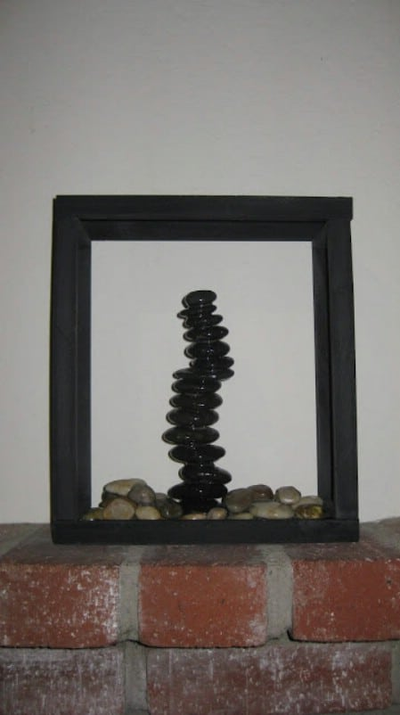 Zen Garden Shadow Box