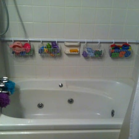 Bathtub Toy Storage
