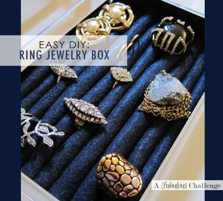 25 brilliant diy jewelry organizing and storage projects page 2 of diy ring box solutioingenieria Images