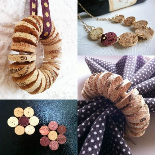 Wine Cork Napkin Rings