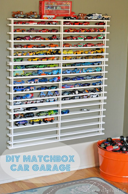 Delightful Matchbox Car Garage