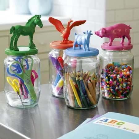 Cute Animal Storage Jars
