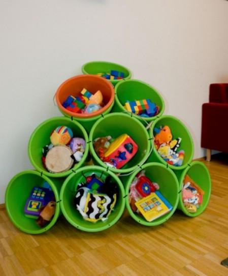 Mounds of Buckets