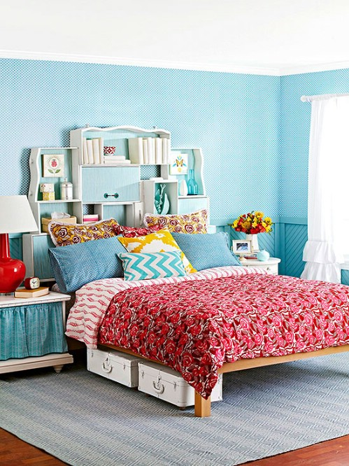 40 dreamy diy headboards you can make by bedtime diy. Black Bedroom Furniture Sets. Home Design Ideas
