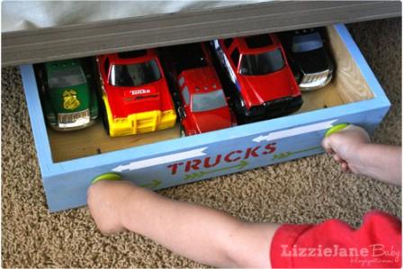 Rolling Toy Storage