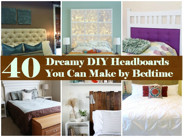 Charming Do It Yourself Headboard Ideas Part - 13: DIY U0026 Crafts