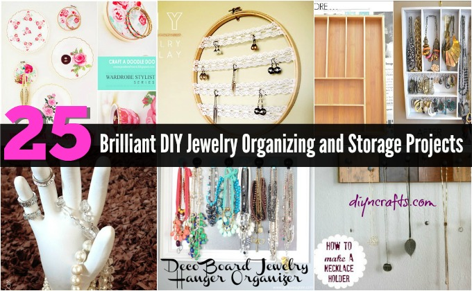 25 brilliant diy jewelry organizing and storage projects diy crafts solutioingenieria Images