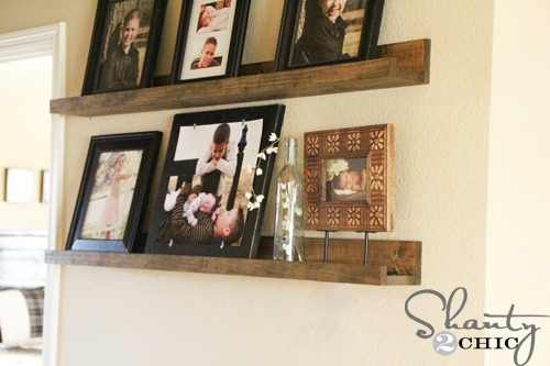 Beautiful Picture Shelves