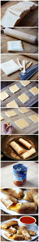 Make incredible cheese bread.