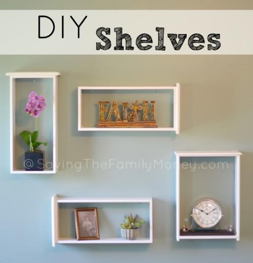 Easy DIY Window Box Shelves