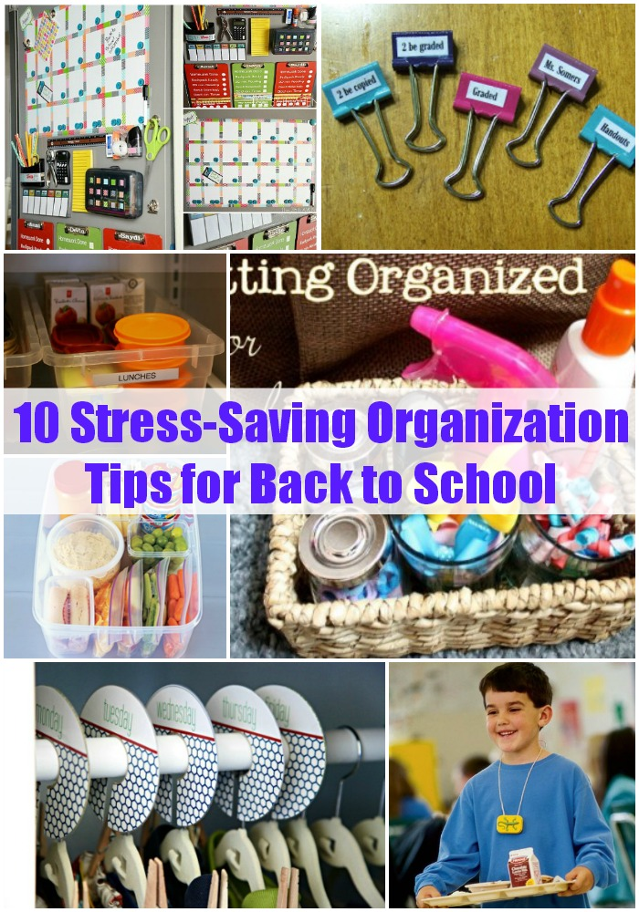 school as organization Here are four back to school organization ideas that will help you keep your  home organized and everything running smoothly.