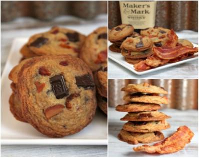 Bourbon-Bacon Chocolate Chunk Cookies