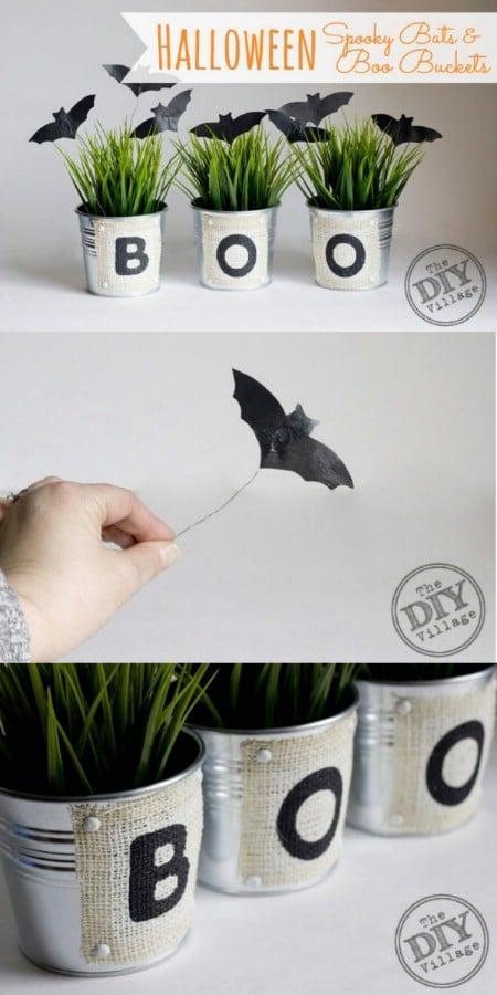 Boos, Buckets and Bats