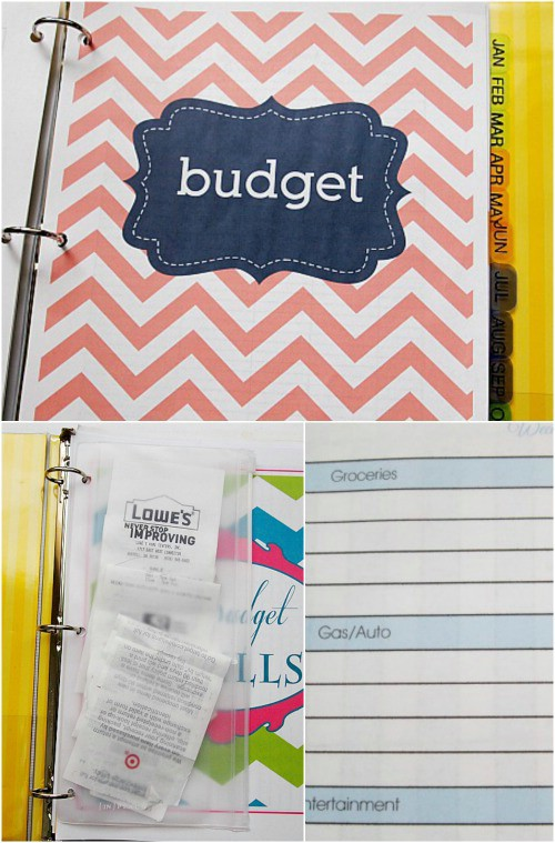 A binder just for your budget