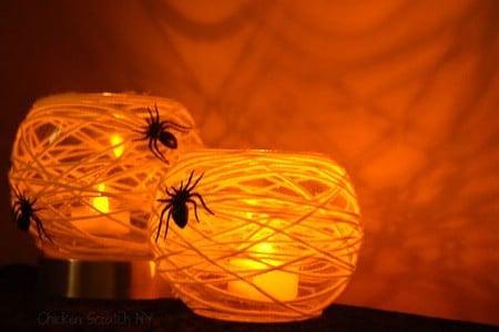 Spider Webbed Lighting