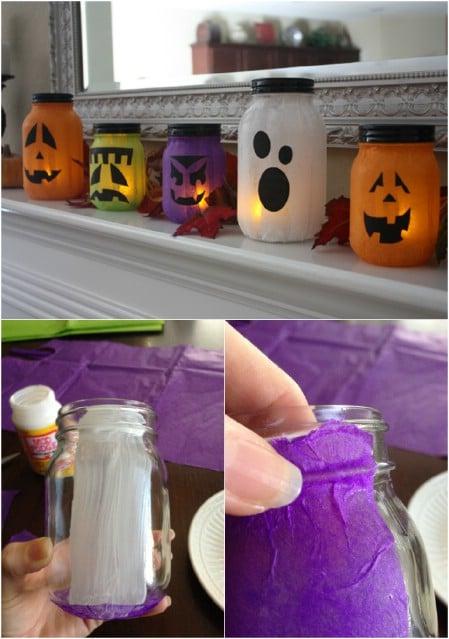 Pumpkin-less Jack-o-Lanterns