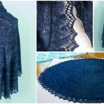 This DIY Knitting Project is More than Just an Exquisite Shawl – It's a Map of the Stars in Our Sky!