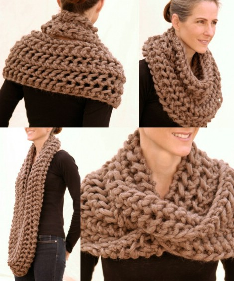 ef51874fff994b 26 Cozy DIY Infinity Scarves With Free Patterns and Instructions ...