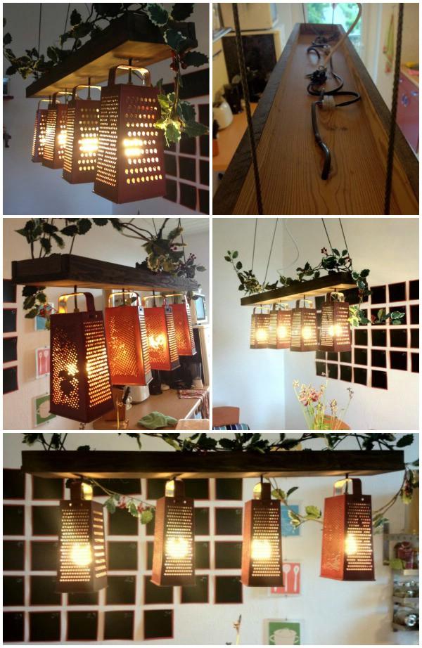 16 Genius DIY Lamps and Chandeliers To Brighten Up Your Home - DIY on diy projects, diy phone, diy glow stick, diy lego bathroom, diy bed, diy desk, diy bearing, diy light, diy decor, diy curtains, diy garden, diy wall art, diy camera, diy table, diy chandelier, diy bedroom, diy easy things to make with household items, diy candle holders, diy lampshade, diy couch,