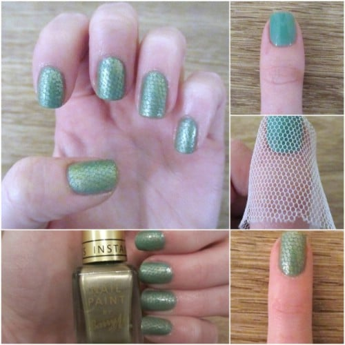 40 diy nail art hacks that are borderline genius page 3 of 4 diy snake skin nails solutioingenieria Choice Image