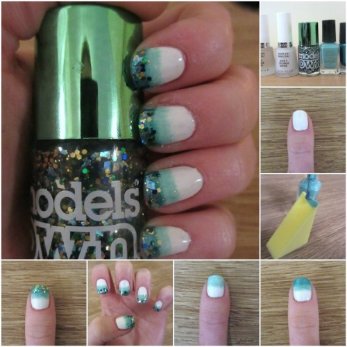 40 diy nail art hacks that are borderline genius page 3 of 4 makeup sponge ombre prinsesfo Images