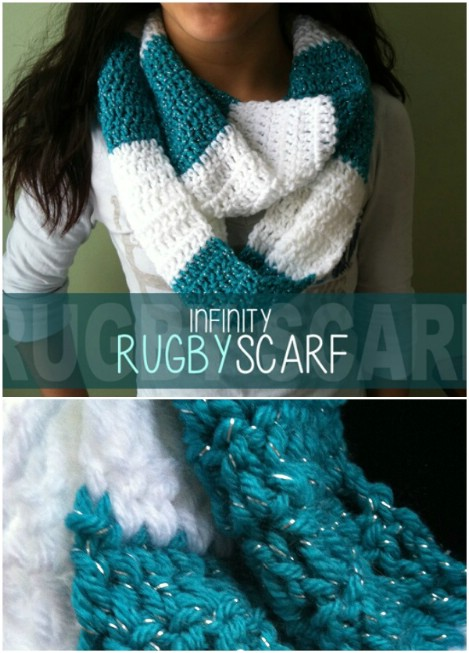 Infinity rugby scarf