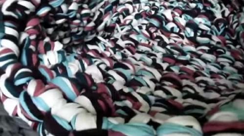Arm Crochet a Rug