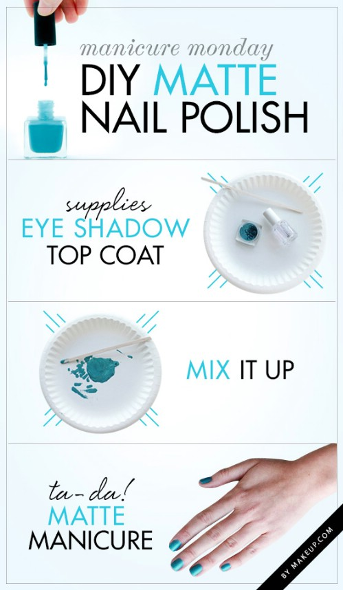40 diy nail art hacks that are borderline genius page 3 of 4 diy diy matte eye shadow solutioingenieria Image collections
