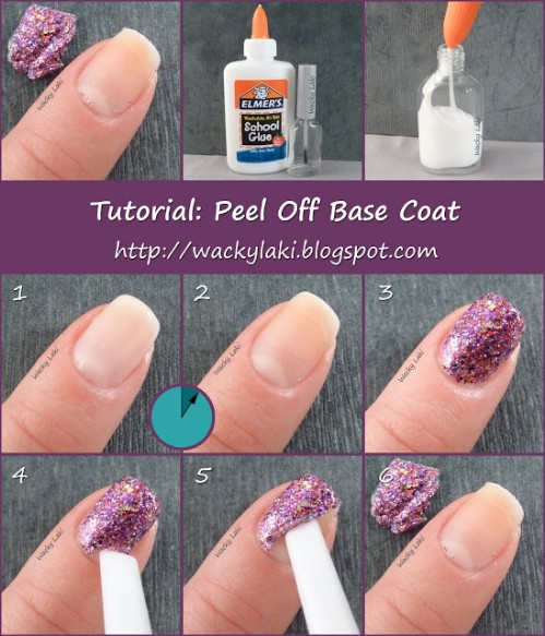 Easy Peel-Off Glitter