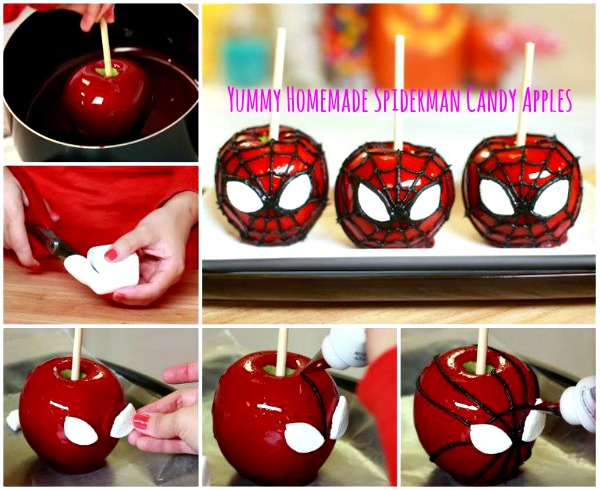 how to make candy apples with karo syrup