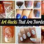 40 DIY Nail Art Hacks That Are Borderline Genius