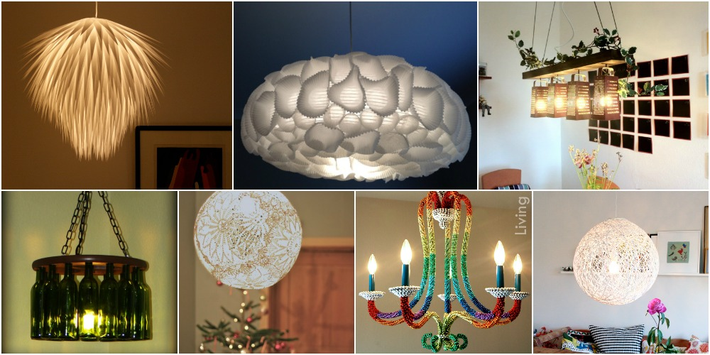 16 genius diy lamps and chandeliers to brighten up your home diy 16 genius diy lamps and chandeliers to brighten up your home diy crafts aloadofball Image collections