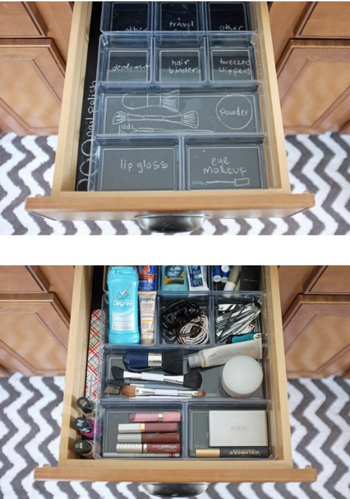 Get your dresser drawer organized.
