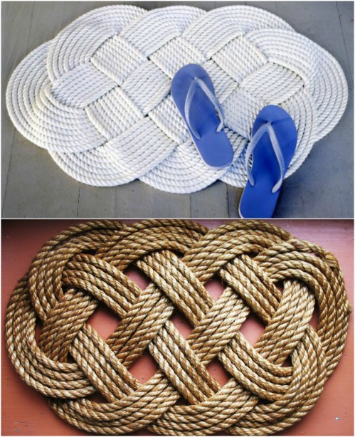 21 Beautifully Stylish Rope Projects That Will Beautify