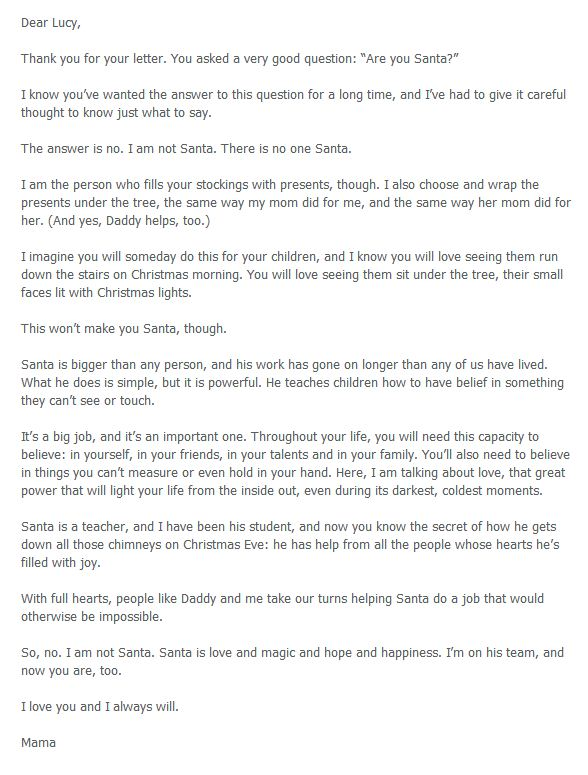 4 heartwarming letters to explain santa to your kids diy crafts martha brockenbrough santa letter 4 heartwarming letters to explain santa to your kids spiritdancerdesigns Images