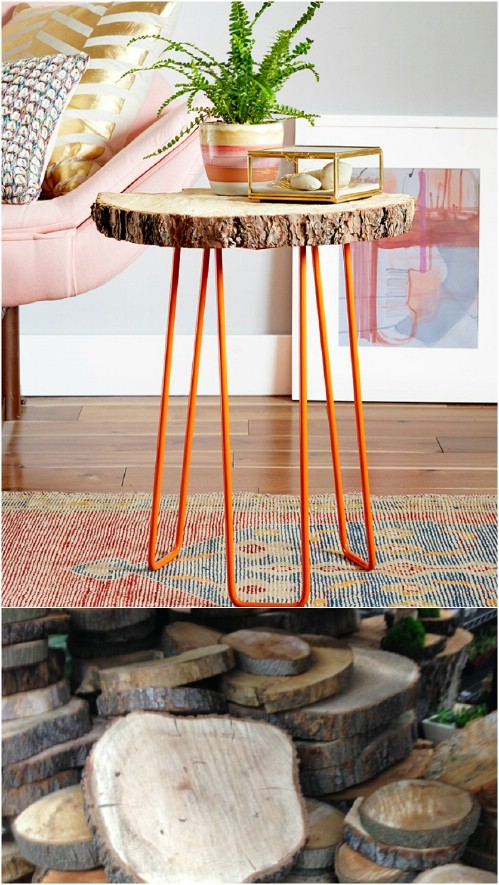 Slice Side Table
